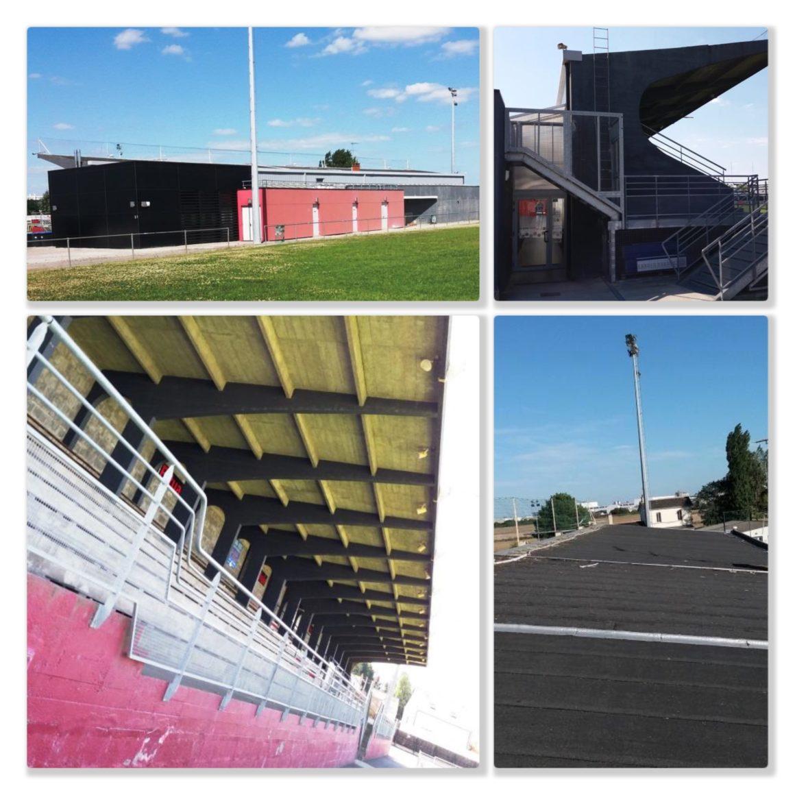 Projet sur la tribune du stade de Trignac: un article dans Estuaire