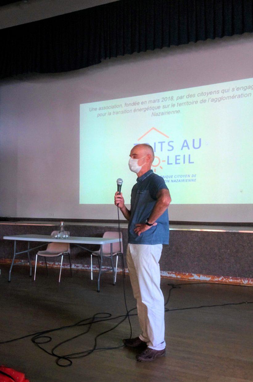 Réunion publique Trignac 10 sept 2020